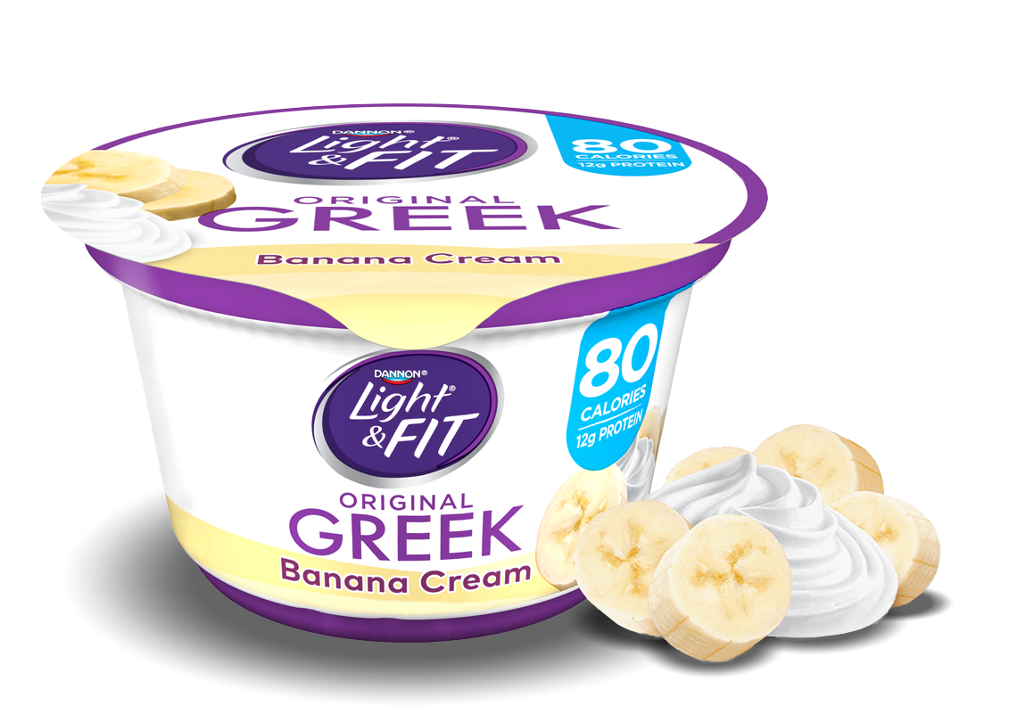 Banana Cream Greek Yogurt