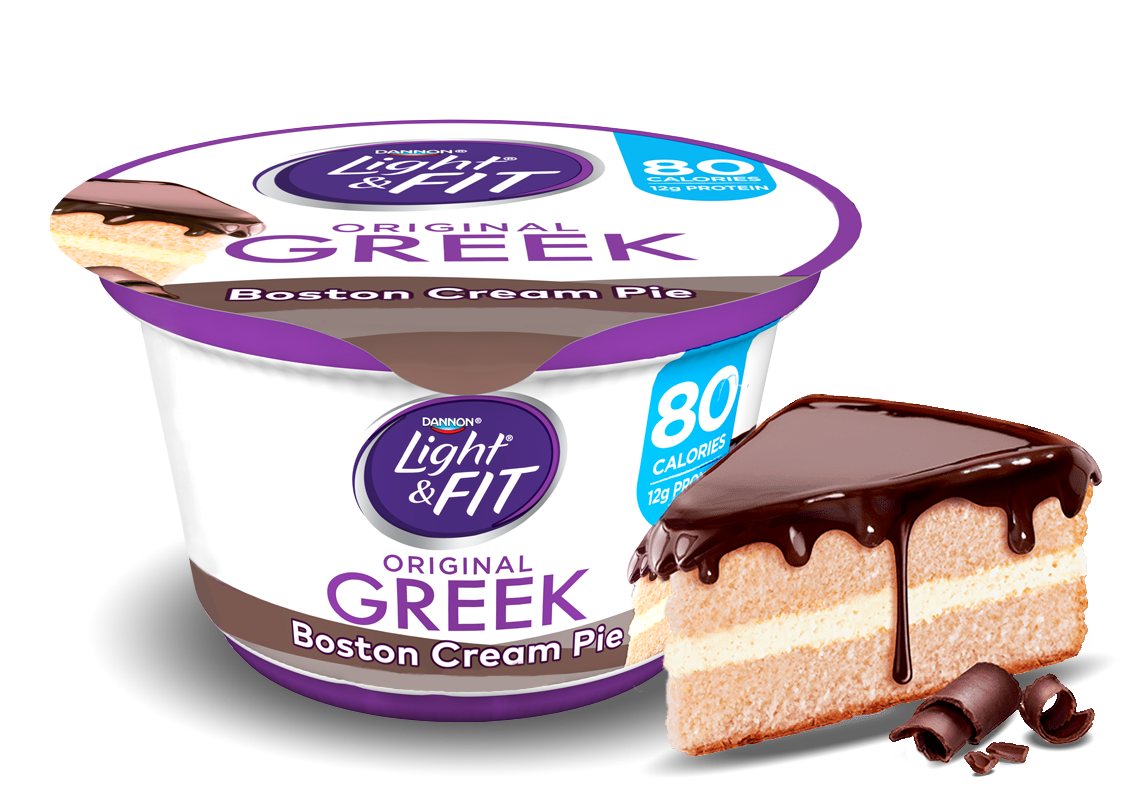 Boston Cream Pie Greek Yogurt