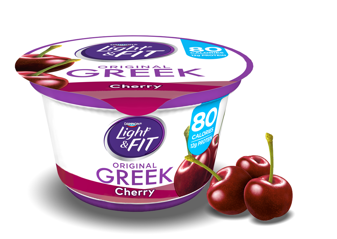 Cherry Greek Yogurt