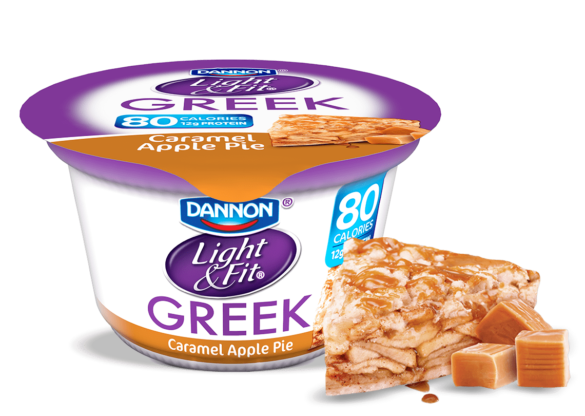Caramel Apple Pie Greek Yogurt