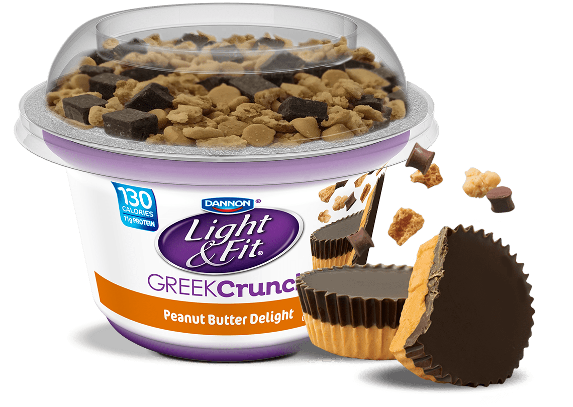 Peanut Butter Delight Nonfat Greek Yogurt Crunch