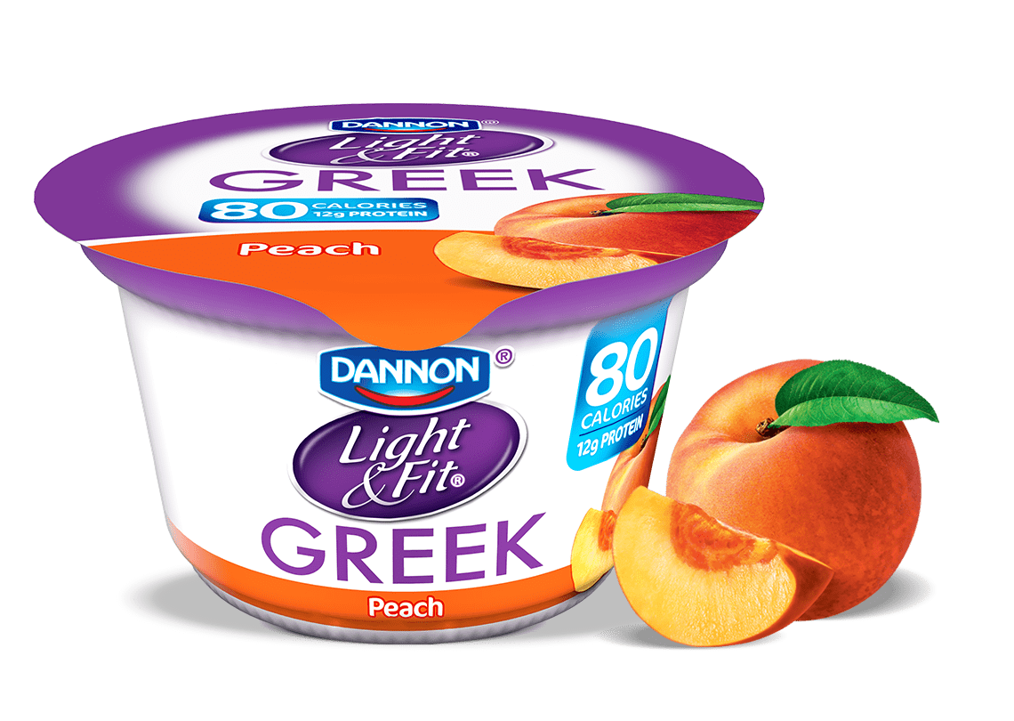 Peach Greek Yogurt
