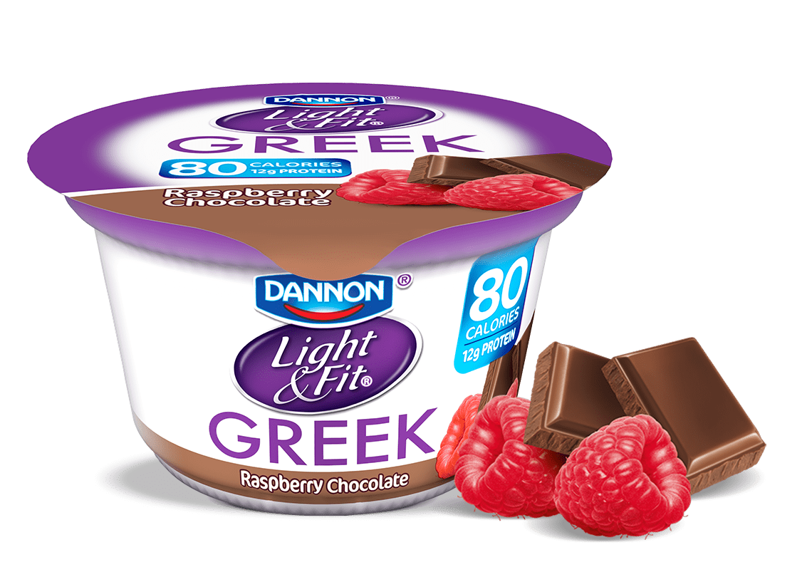 Raspberry Chocolate Greek Yogurt