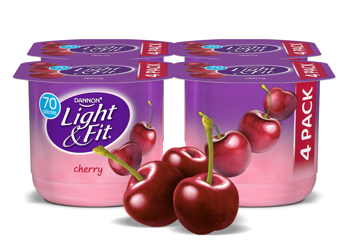 Cherry Nonfat Yogurt