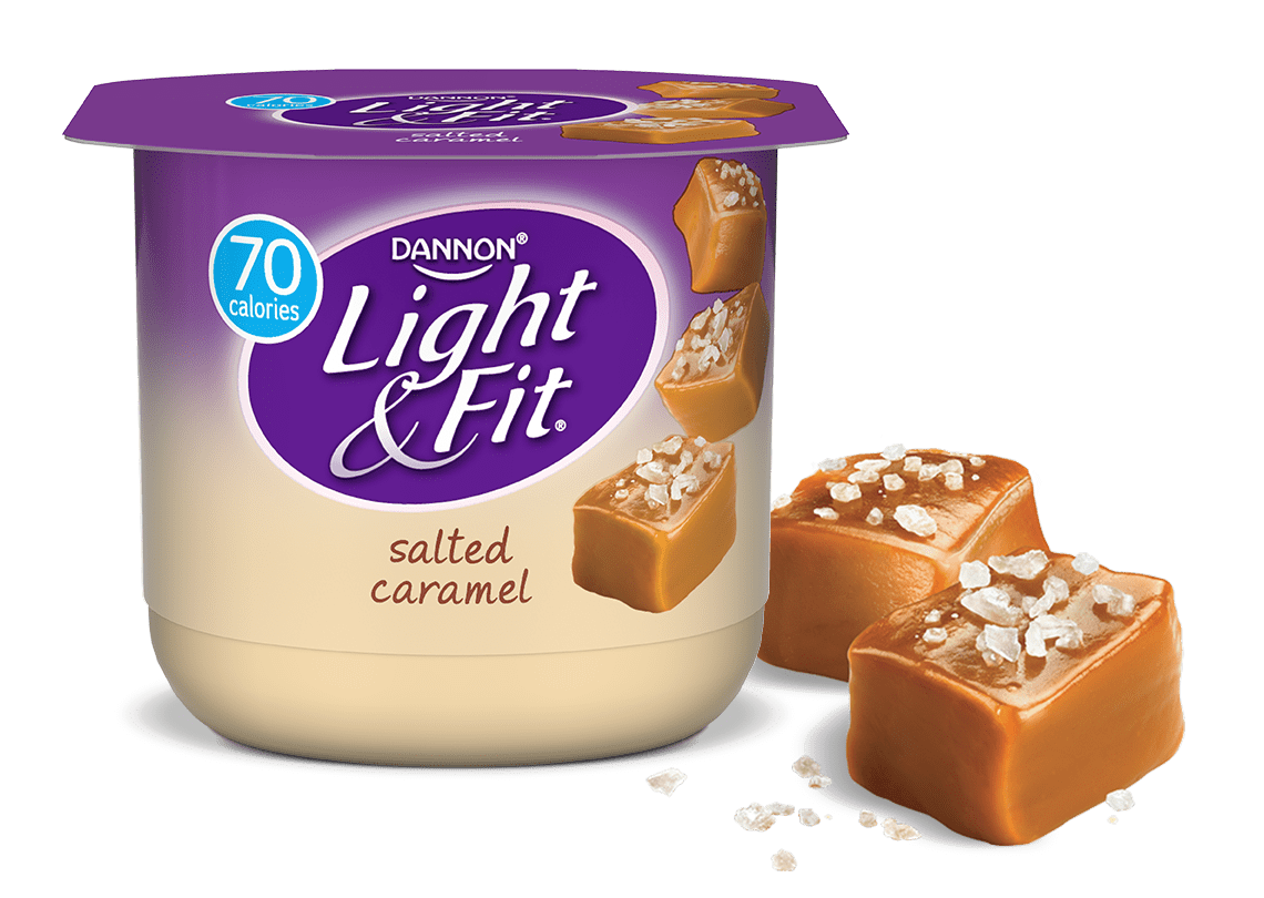 Salted Caramel Nonfat Yogurt