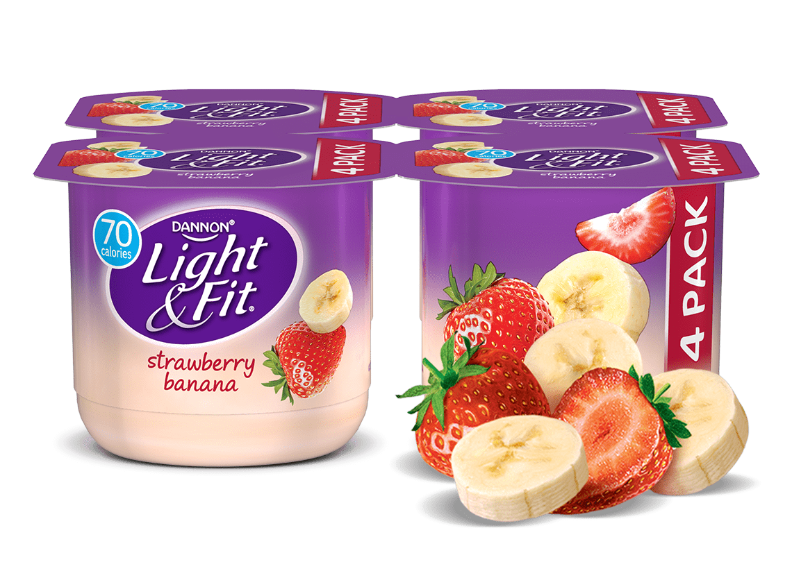 Strawberry Banana Nonfat Yogurt