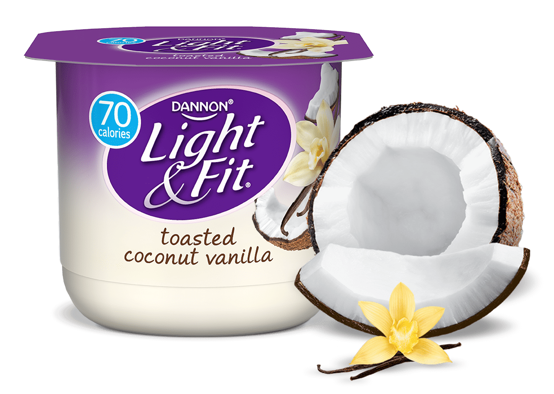 Toasted Coconut Vanilla Nonfat Yogurt