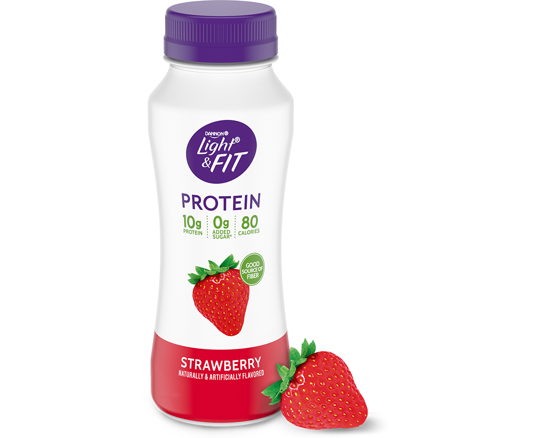 Strawberry Protein Smoothie Light Amp Fit 174