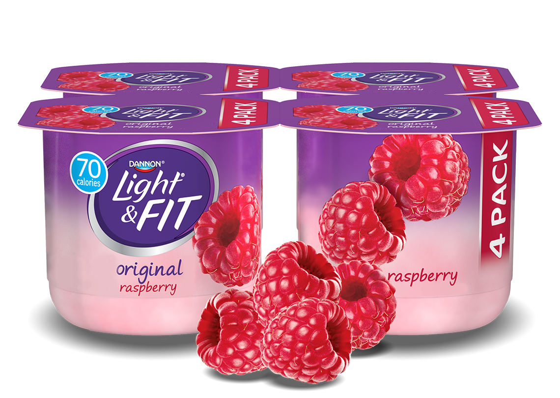 Raspberry Nonfat Yogurt