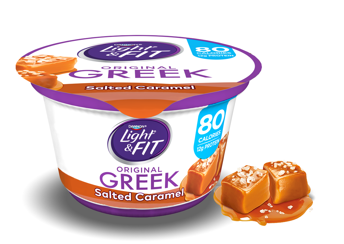 Salted Caramel Greek Yogurt