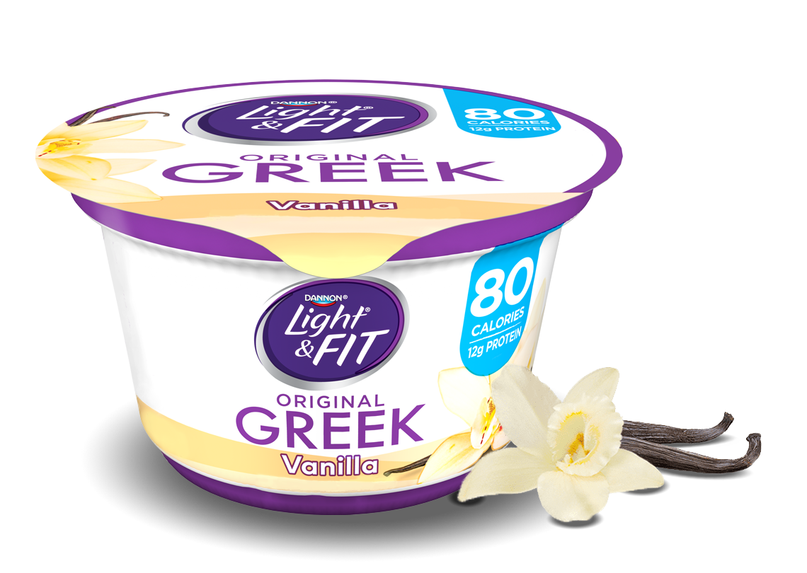 vanilla greek yogurt | light & fit®