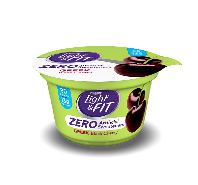 Greek Yogurt Zero Artificial Sweeteners | Light & Fit®