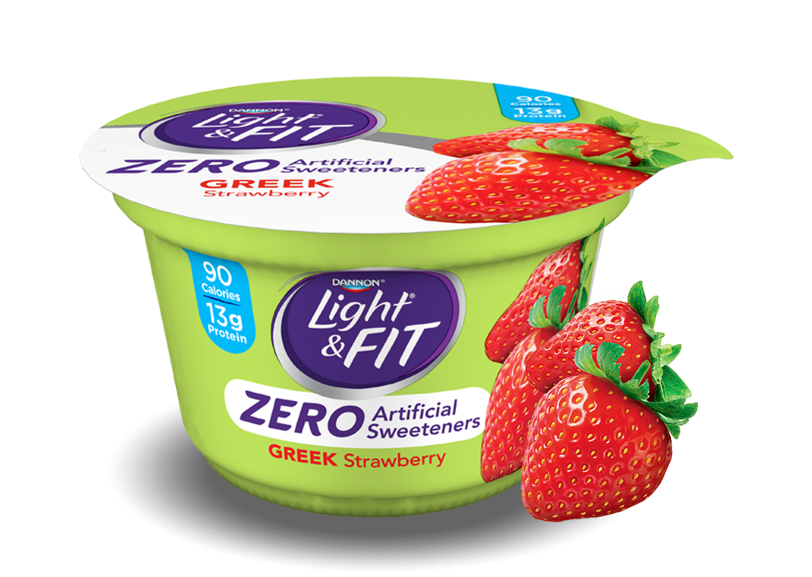 Strawberry Greek Yogurt without Artificial Sweeteners