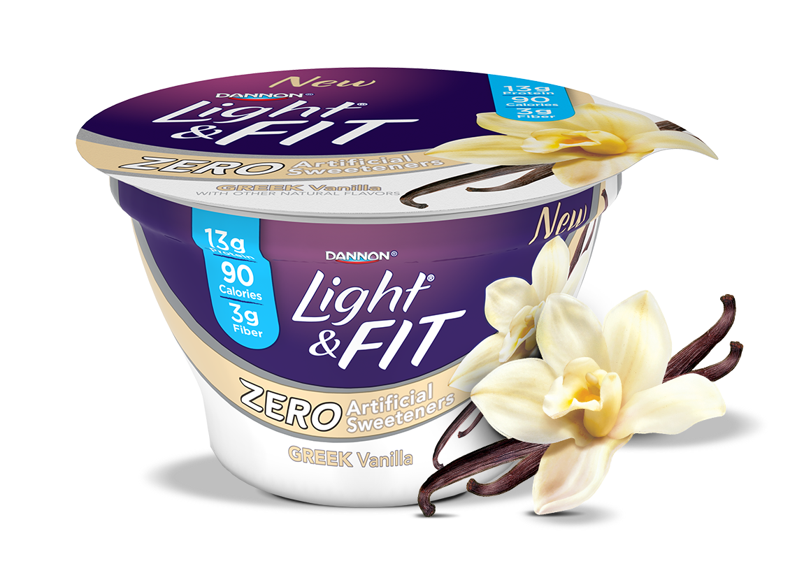 Vanilla Greek Yogurt without Artificial Sweeteners