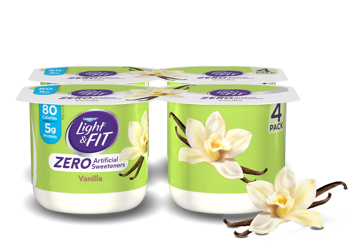 Vanilla Nonfat Yogurt without Artificial Sweeteners
