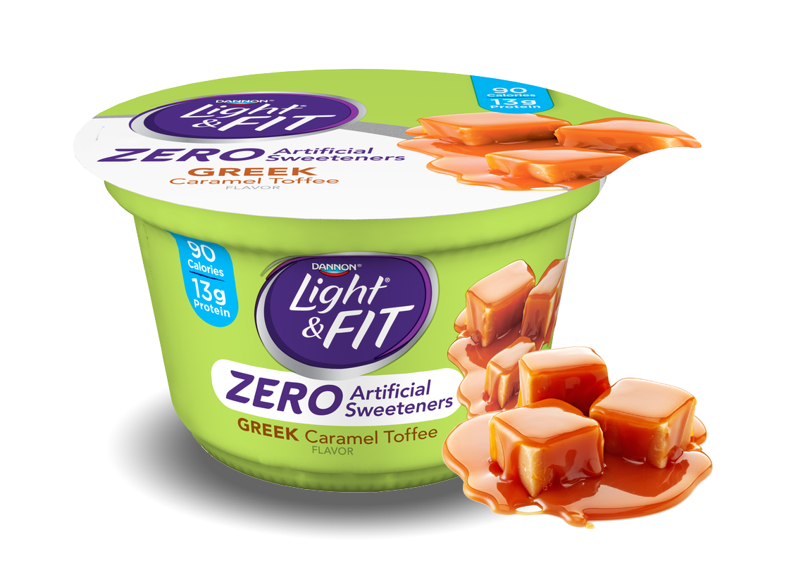 Caramel Toffee Greek Nonfat Yogurt