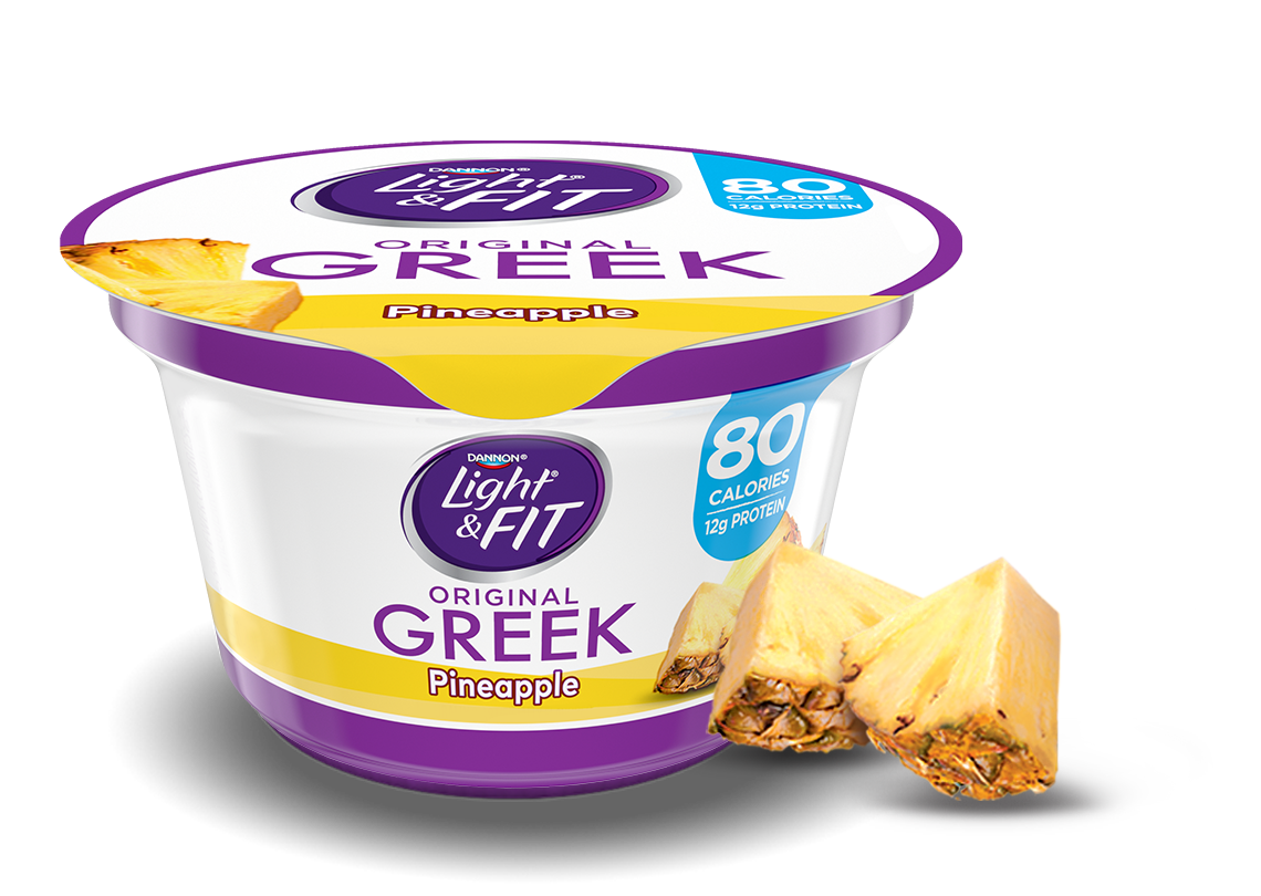 Pineapple Greek Nonfat Yogurt