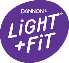 Dannon Light + Fit Logo