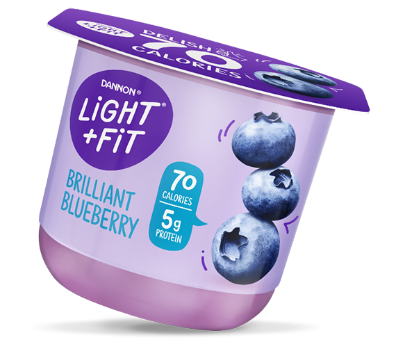 Blueberry Nonfat Yogurt