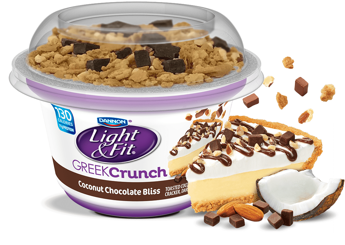 Chocolate Coconut Bliss Nonfat Greek Yogurt Crunch