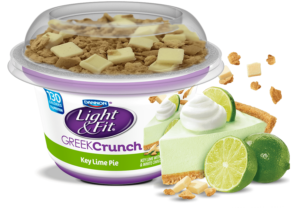 Key Lime Pie Nonfat Greek Yogurt Crunch