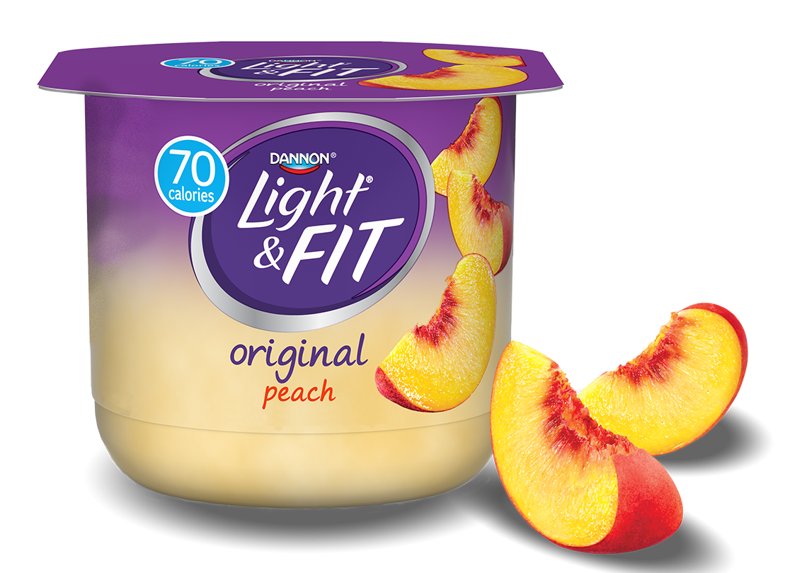 Peach Nonfat Yogurt