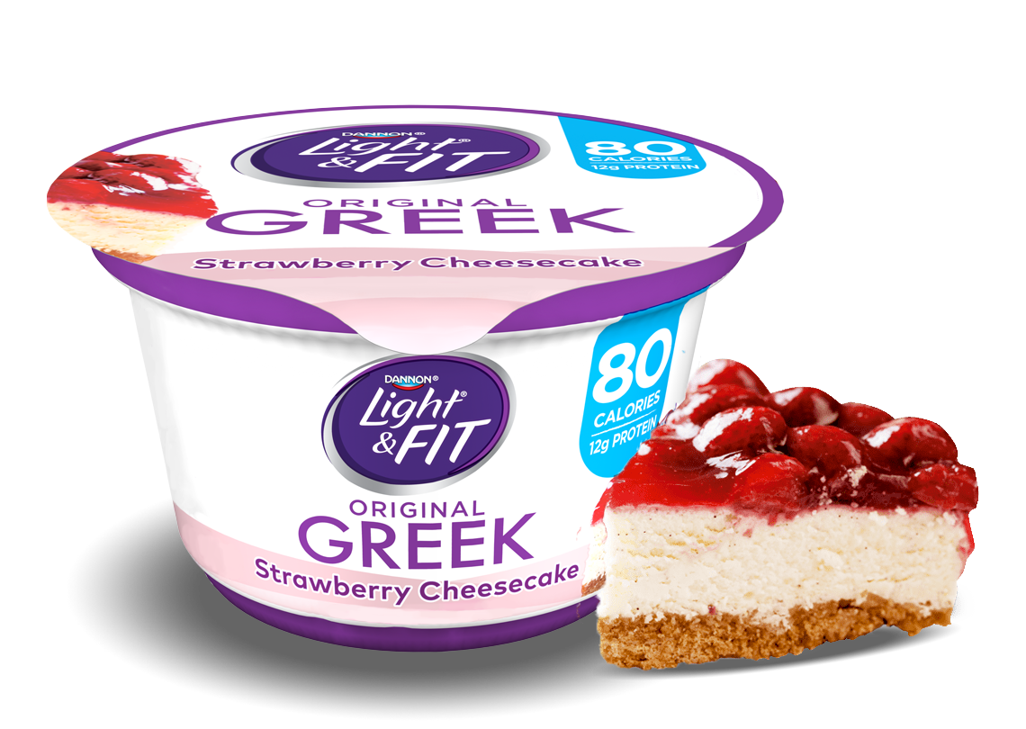Strawberry Cheesecake Greek Yogurt