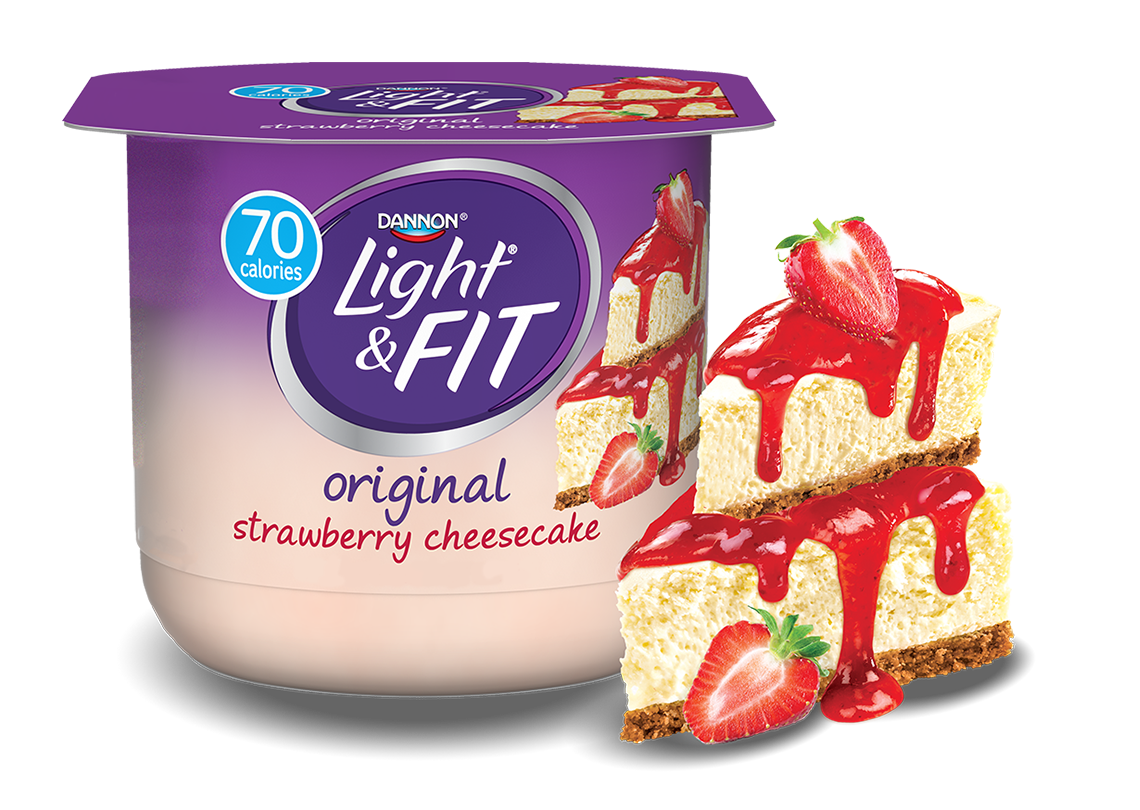 Strawberry Cheesecake Nonfat Yogurt
